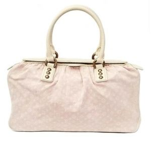 Louis Vuitton Trapeze Pink Mini Lin Bag